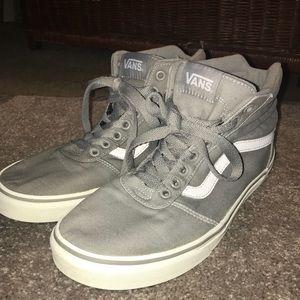 Vans Hi Top Shoes. Size 9.5